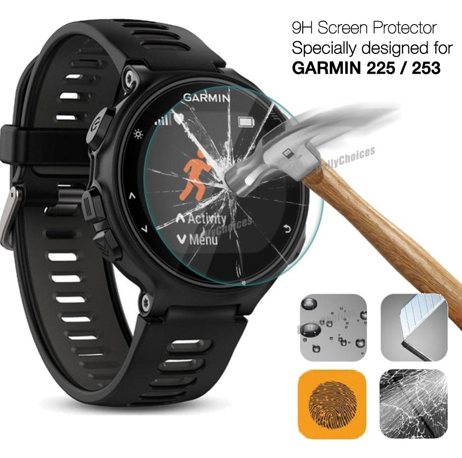 volume grand utilisation durable courir chaussures For Garmin Forerunner 225 235 Tempered Glass Screen ...