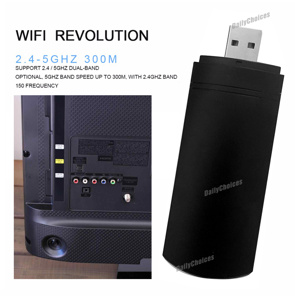 wireless lan adapter wifi usb dongle for samsung tv. Black Bedroom Furniture Sets. Home Design Ideas