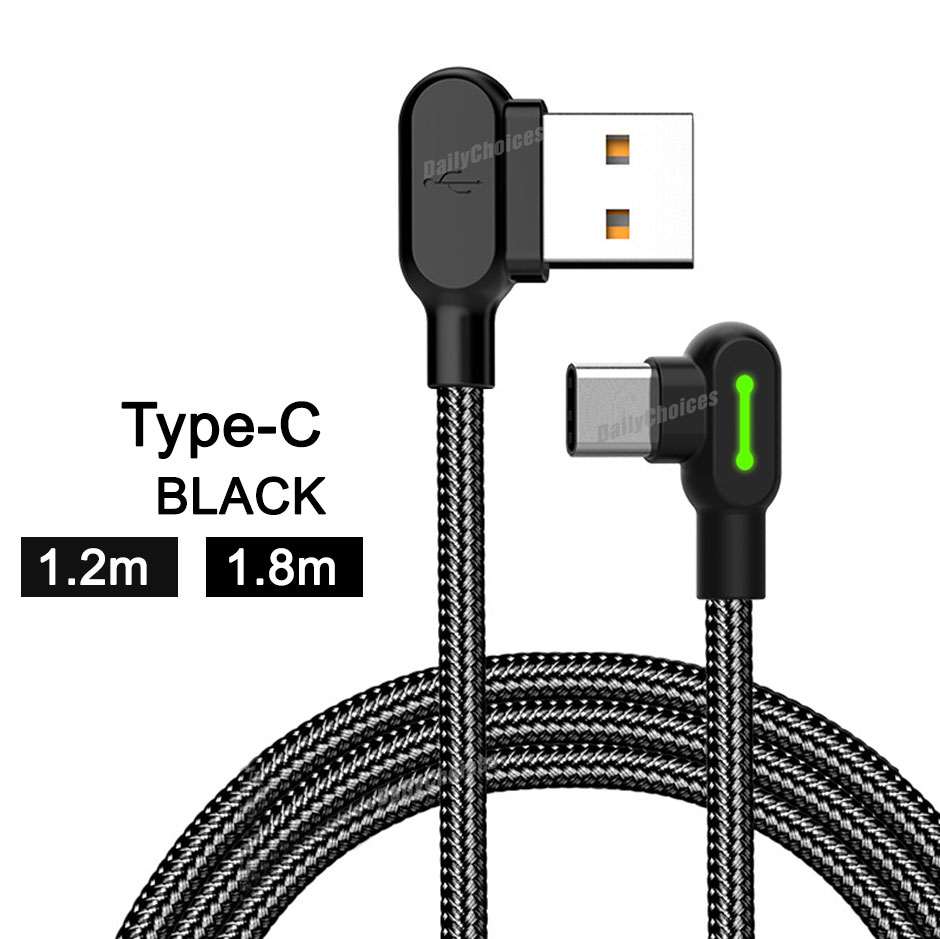 Mcdodo 90 Degree Elbow 1 2m Lightning Charging Cable For