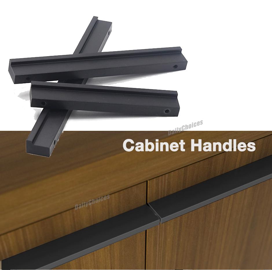 Black Kitchen Handles Melbourne: Black Kitchen Cabinet Handles Square Bar Door Knobs